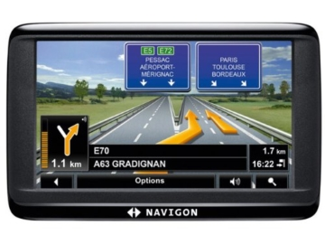Navigon 40 EASY Navigationssystem ( 4.3 Zoll Display,starrer Monitor, 16:9,Kontinent-Ausschnitt ) -
