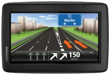 TomTom Start 25 Central Europe Traffic Navigationssystem (13 cm (5,0 Zoll) Display, TMC, Fahrspur- & Parkassistent, IQ Routes, Favoriten, Europa 19) -