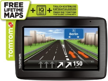 TomTom Via 135 M Europe Traffic Navigationssystem inkl. FREE Lifetime Maps, 13 cm (5 Zoll) Display, 45 Länder, TMC, Fahrspur- und Parkassistent, Freisprechen per Bluetooth, IQ Routes, Map Share -